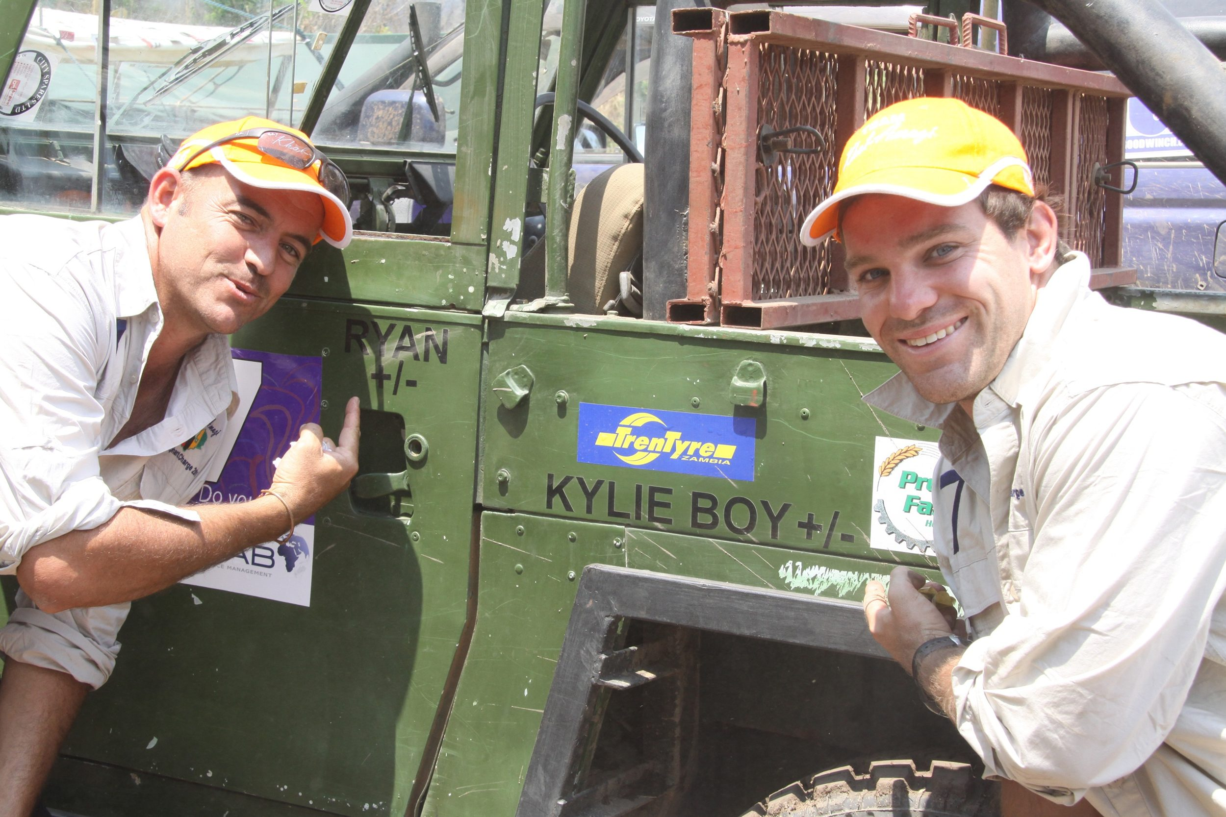 Ryan and Kyle